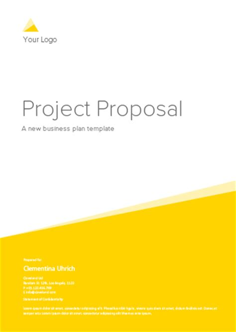 19 Business Plan Templates - Free Sample, Example, Format
